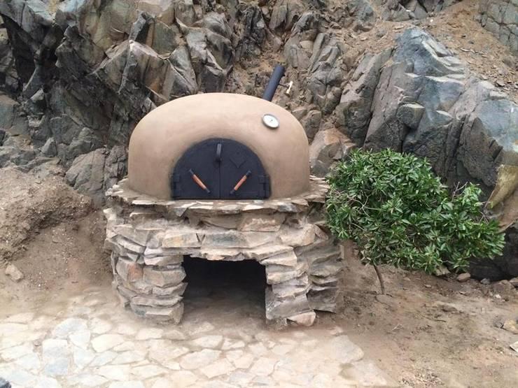 horno de barro :  de estilo  por horno peru