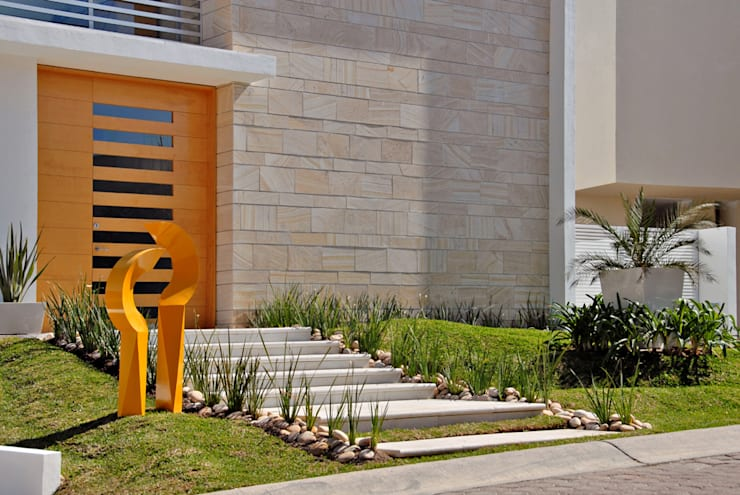 Casas modernas por Agraz Arquitectos S.C.