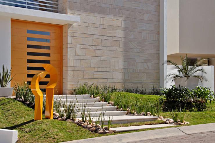 Casas de estilo  por Agraz Arquitectos S.C.