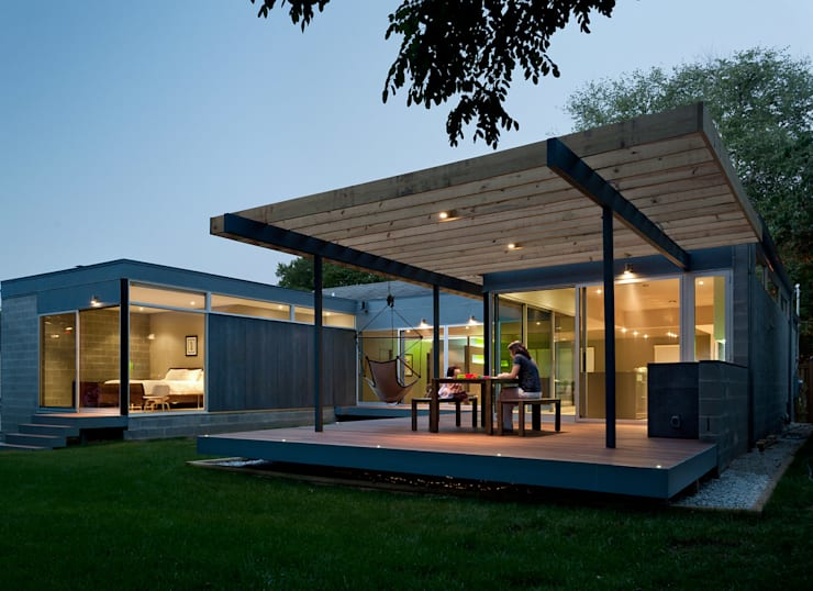 Casa Abierta:  Houses by KUBE Architecture