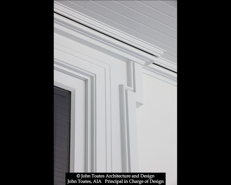 Trim Detail:  Windows by John Toates Architecture and Design