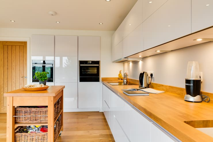 Nobilia Project 2 Focus 20mm Lacquered Door In Gloss White With