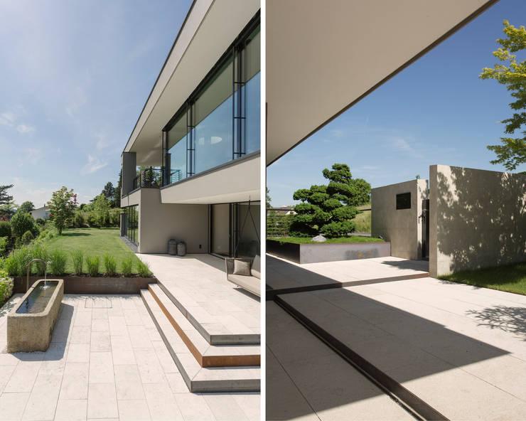 Terrazas de estilo  de meier architekten zürich, Moderno