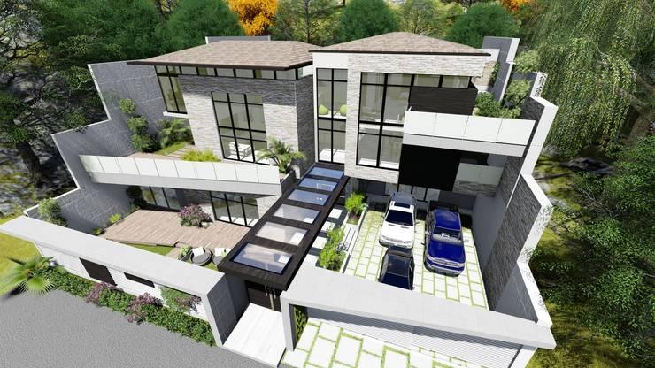 Proyecto Casa Querales Californiana 03: Casas de estilo  por Arquitectura Creativa