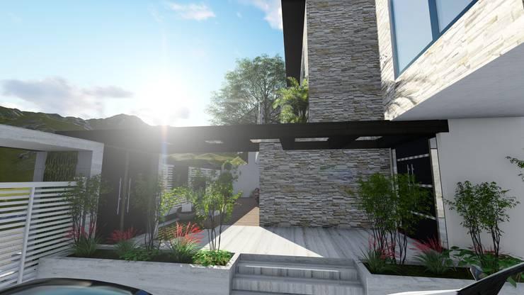 Proyecto Casa Querales Californiana 06: Casas de estilo  por Arquitectura Creativa