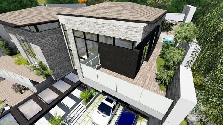 Proyecto Casa Querales Californiana 08: Casas de estilo  por Arquitectura Creativa