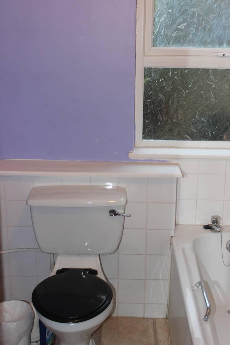 Bathroom Before :   by Millennium Interior Designers,