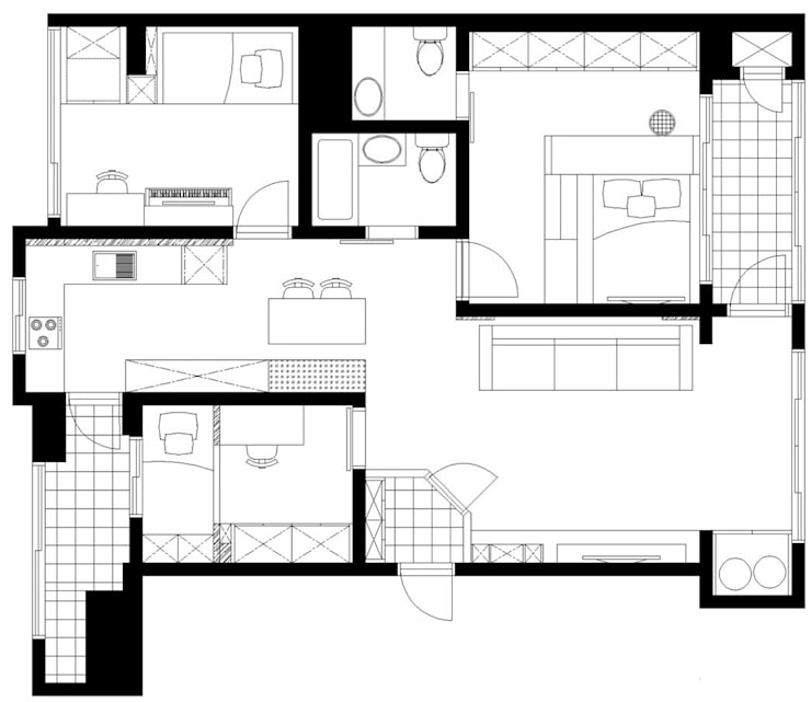 가족들에게 꼭 맞춰진 아이템들로 채워진 새집같은 우리집 리모델링  : 퍼스트애비뉴의