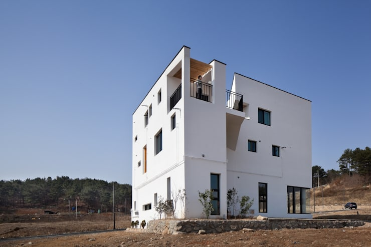 Casas de estilo  de ON ARCHITECTURE INC., Asiático