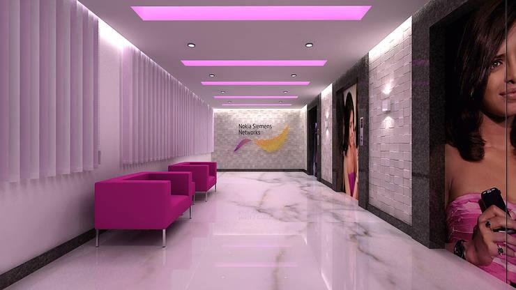 NOKIA SEIMENS, BANGALORE.(www.depanache.in):   by De Panache  - Interior Architects