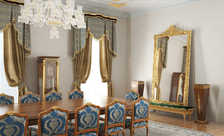 Derya Bilgen – Toplantı Odası:  tarz Çalışma Odası, Klasik Ahşap Ahşap rengi