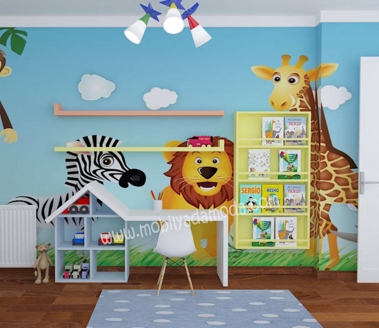 غرفة الاطفال تنفيذ MOBİLYADA MODA