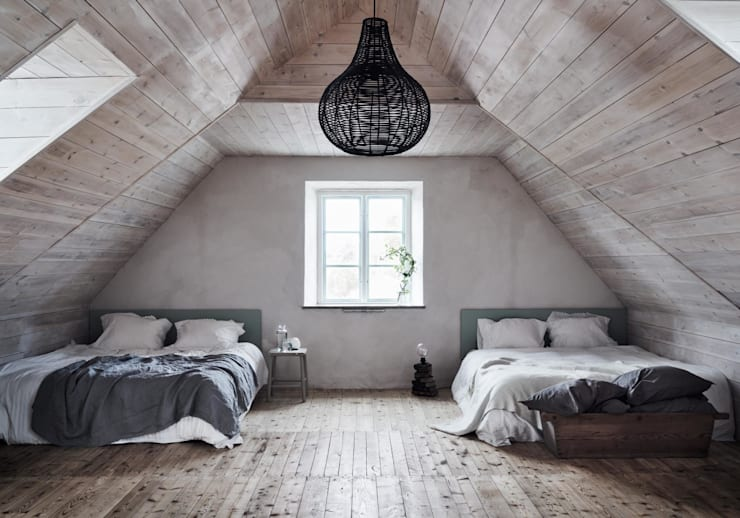 Chambre de style de style Scandinave par Design for Love