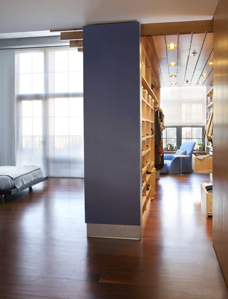 Adams Morgan Master Closet Lighting :  Corridor & hallway by Hinson Design Group