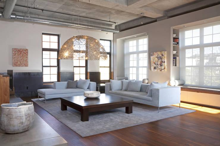Adam Morgan Living Room Lighting : modern Living room by Hinson Design Group