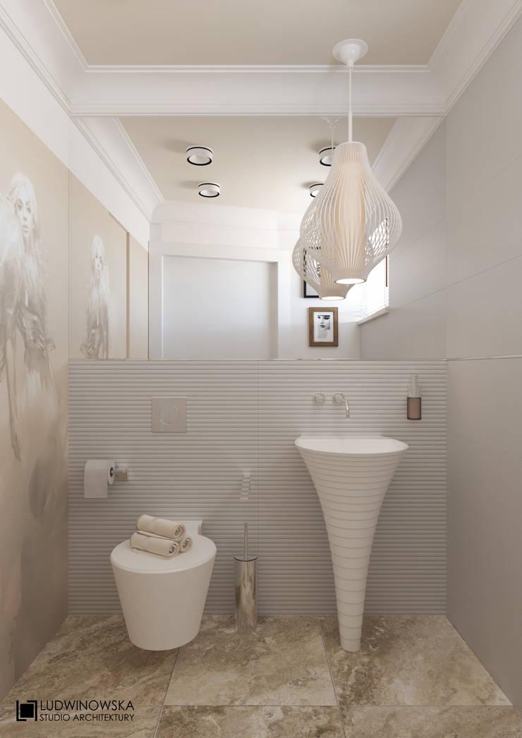 DR BEAUTY: styl , w kategorii Łazienka zaprojektowany przez Ludwinowska Studio Architektury