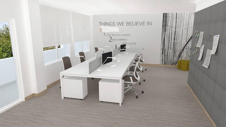 Empresa| Escritório: Escritórios  por  IDesign.art by Paula Gouveia