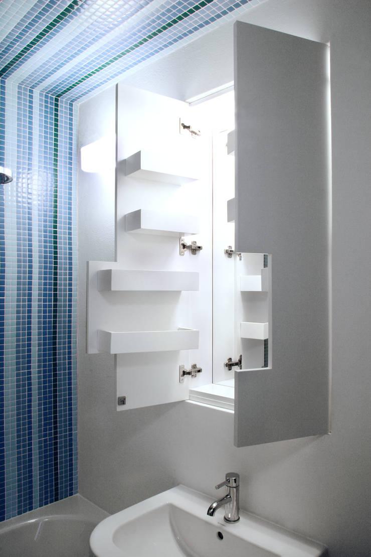 bathroom furniture:  Bathroom by brandt+simon architekten