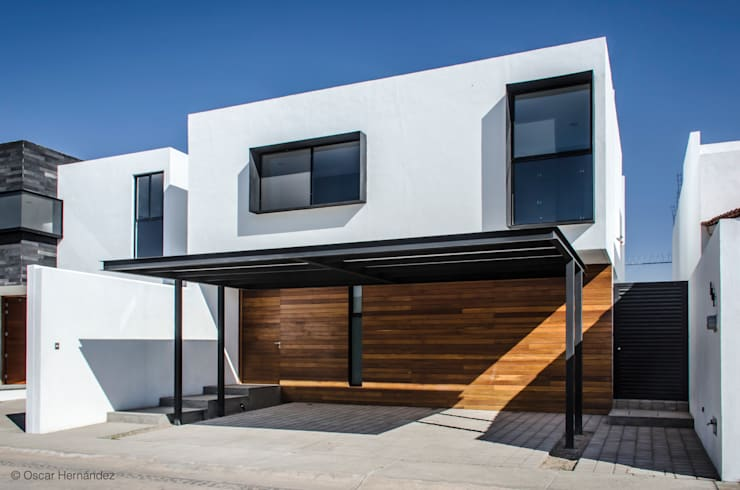 CASA K20 / BLOB BOX STUDIO:  de estilo  por Oscar Hernández - Fotografía de Arquitectura