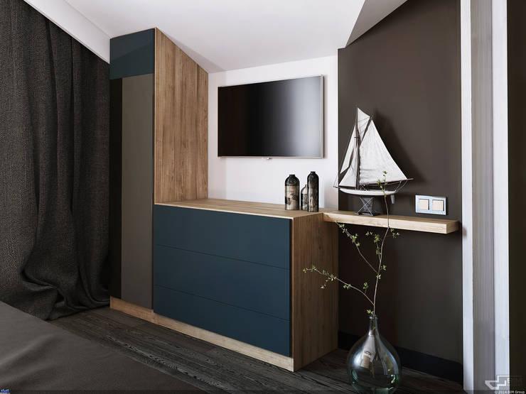 Комод в скандинавском стиле: Гостиная в . Автор – URBAN wood