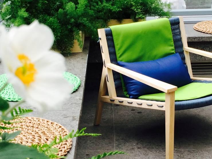 Tерраса в . Автор – Barbara Negretti  - Garden design - ,