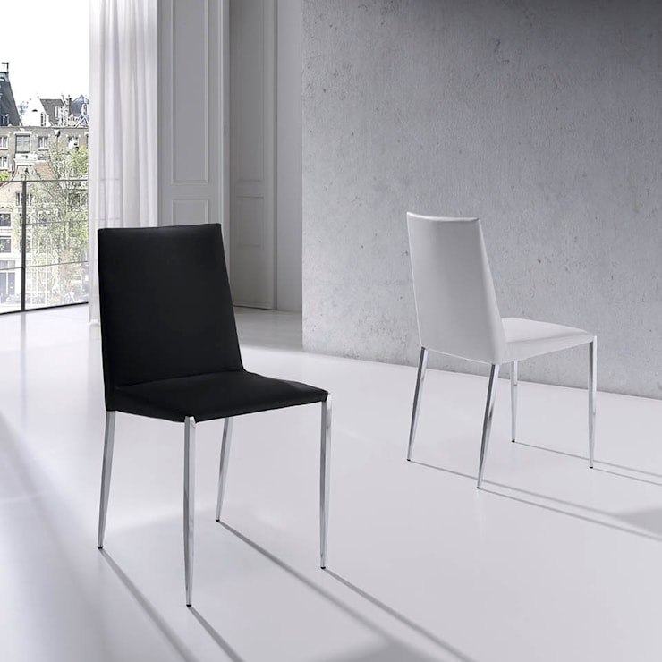 Cadeiras modernas Modern Chairs www.intense-mobiliario.com : Sala de jantar  por Intense mobiliário e interiores;