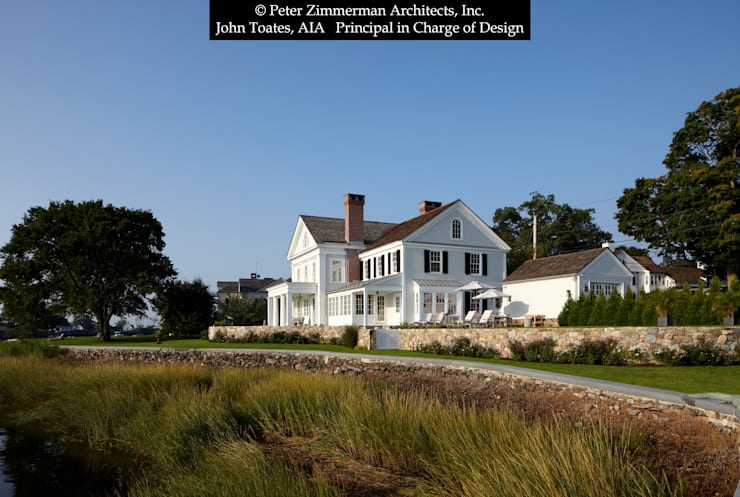 Exterior: classic Houses by John Toates Architecture and Design
