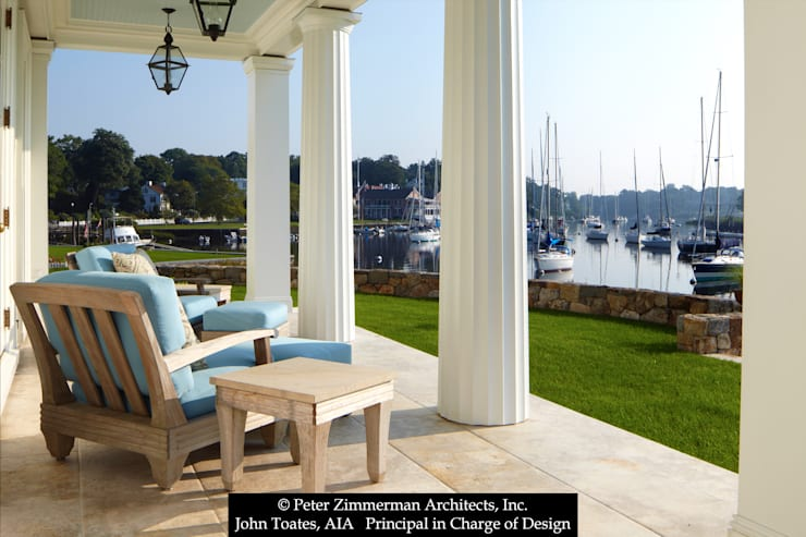 Porch: classic Houses by John Toates Architecture and Design
