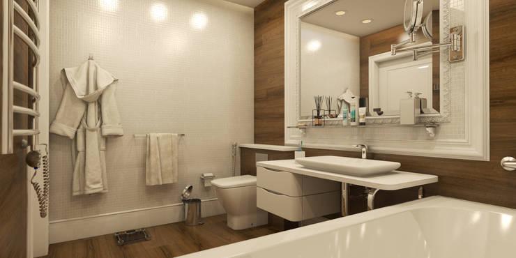 Эклектика 2016: Ванные комнаты в . Автор – D-SAV     ДИЗАЙН ИНТЕРЬЕРА И АРХИТЕКТУРА