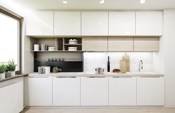 modern Kitchen by FOORMA