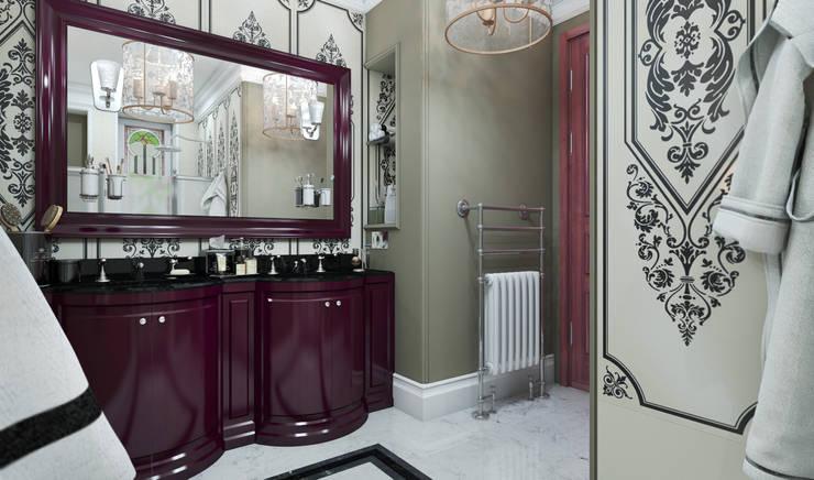 Париж: Ванные комнаты в . Автор – D-SAV     ДИЗАЙН ИНТЕРЬЕРА И АРХИТЕКТУРА