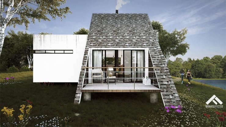 Patios & Decks by FERAARQUITECTOS, Scandinavian