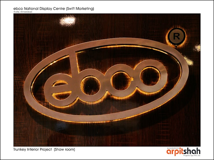 "ebco Showroom @ Thaltej, SG Mall: {:asian=>""asian"", :classic=>""classic"", :colonial=>""colonial"", :country=>""country"", :eclectic=>""eclectic"", :industrial=>""industrial"", :mediterranean=>""mediterranean"", :minimalist=>""minimalist"", :modern=>""modern"", :rustic=>""rustic"", :scandinavian=>""scandinavian"", :tropical=>""tropical""}  by ARPIT SHAH PROJECTS OPC PVT LTD.,"
