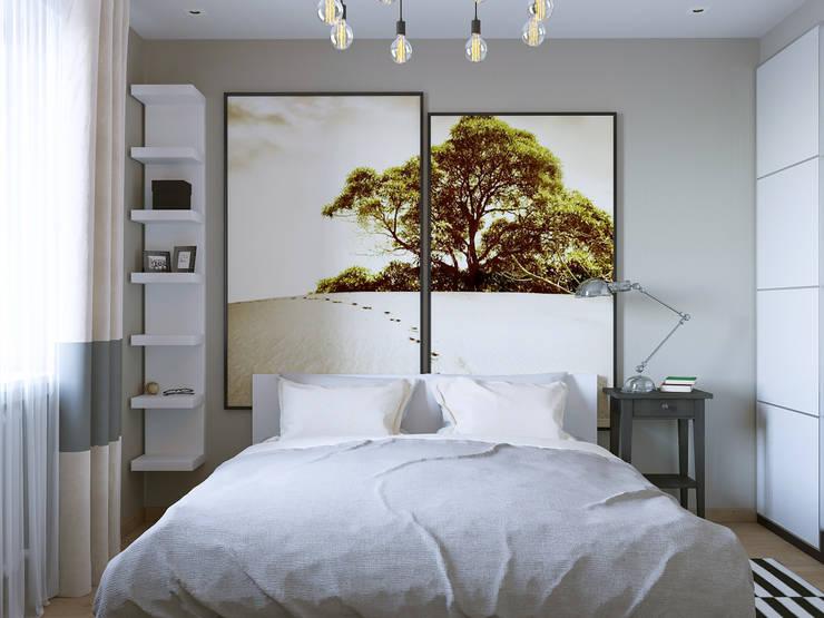 Bedroom by Бюро9 - Екатерина Ялалтынова