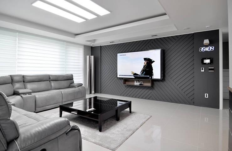 modern Living room by JMdesign