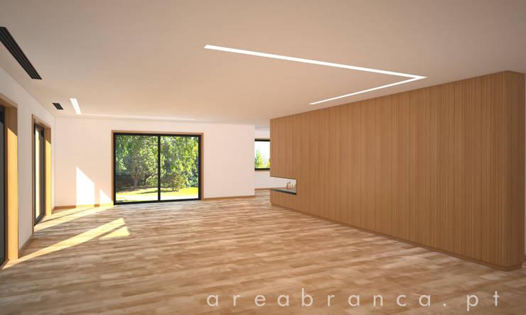 Sala | Living Room: Salas de estar  por Areabranca