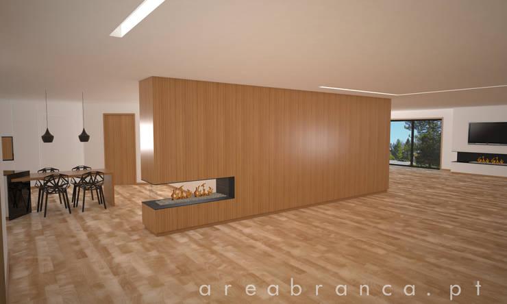 Sala | Kitchen : Salas de estar  por Areabranca