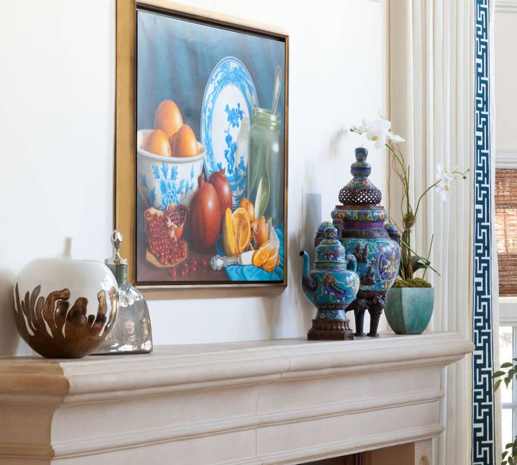 Belcaro Beauty:  Living room by Andrea Schumacher Interiors