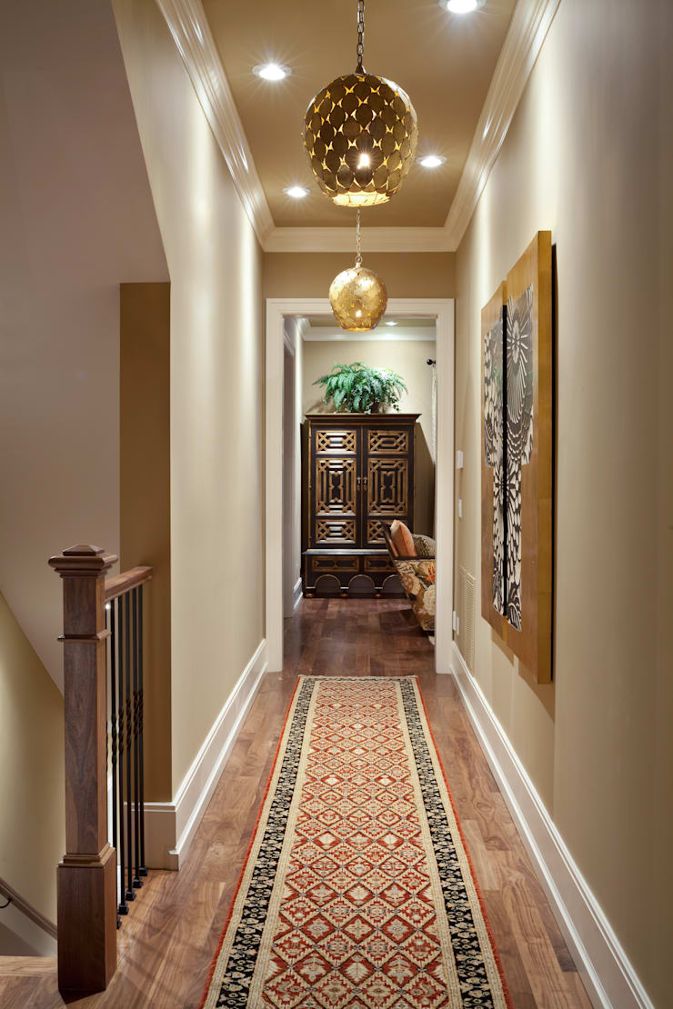 Supremely Sophisticated:  Corridor & hallway by Andrea Schumacher Interiors