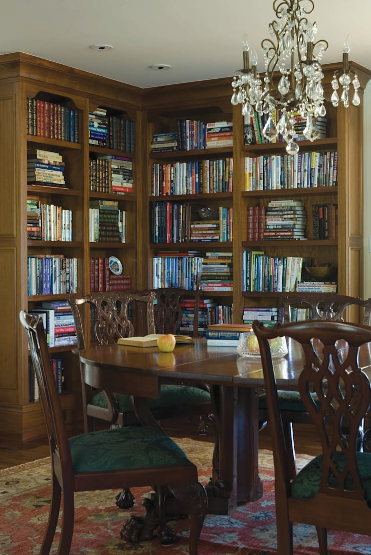 Renovation Remodel: classic Study/office by Andrea Schumacher Interiors