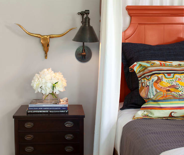 How To Use A Four Poster Bed Canopy To Good Effect: Show House 2013 By Andrea Schumacher Interiors