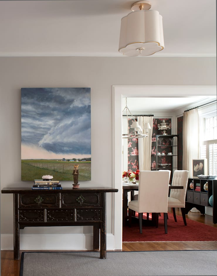 Denver Country Club Home:  Corridor & hallway by Andrea Schumacher Interiors