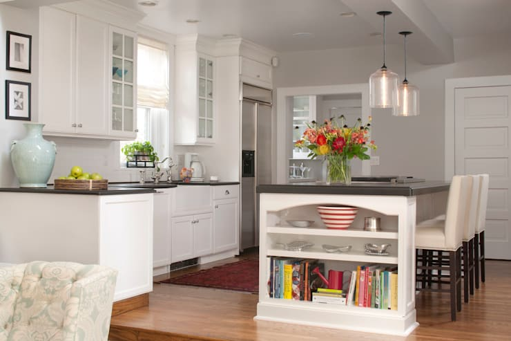 Denver Country Club Home:  Kitchen by Andrea Schumacher Interiors