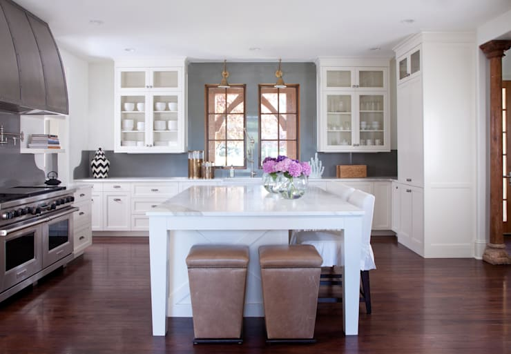 Buell Mansion Remix:  Kitchen by Andrea Schumacher Interiors