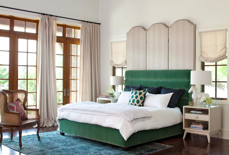 Buell Mansion Remix:  Bedroom by Andrea Schumacher Interiors