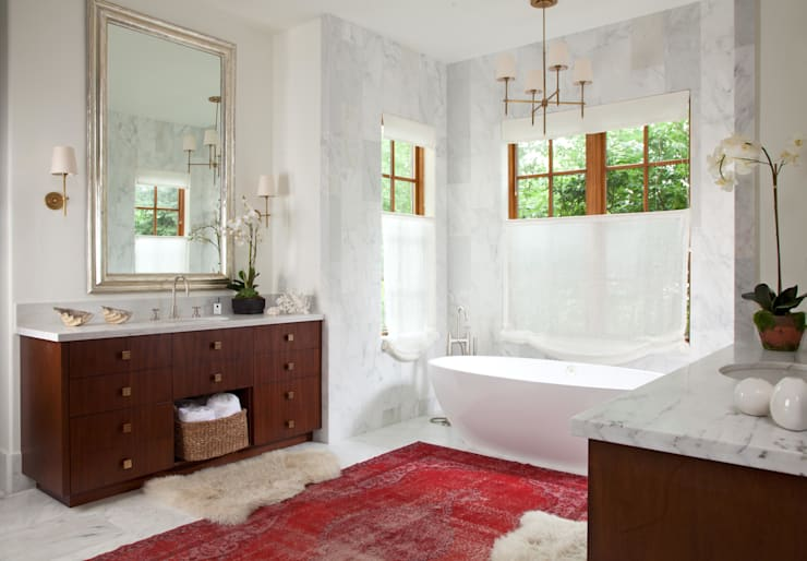 Buell Mansion Remix:  Bathroom by Andrea Schumacher Interiors