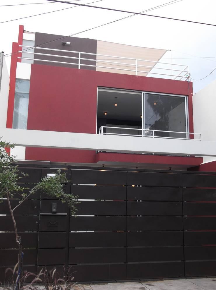 CASAS XOCOC-ATL ARQUIMIA ARQUITECTOS: Casas de estilo  por Arquimia Arquitectos