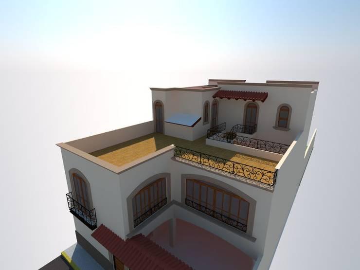 Proyecto Sainz:  de estilo  por RHS ARQUITECTOS