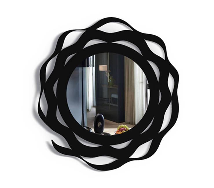 Настенное зеркало  SPLASH: Гостиная в . Автор – BONESSI