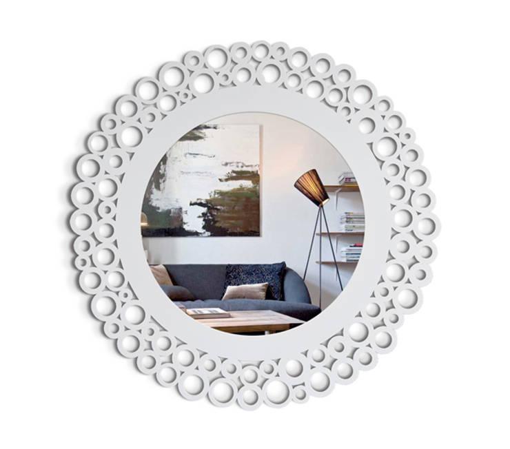 Настенное зеркало  COMO: Спальная комната  в . Автор – BONESSI